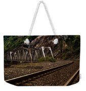 Walking The Tracks Weekender Tote Bag