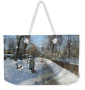 Walking To Gether Weekender Tote Bag