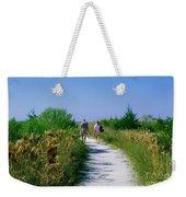 Walking To The Beach Weekender Tote Bag