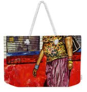 Walking To The Library Weekender Tote Bag