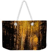 Walking With Aspens Weekender Tote Bag