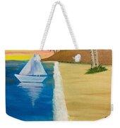 Walking With You On Beach Weekender Tote Bag