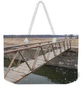 Walkway Over The Canal Weekender Tote Bag
