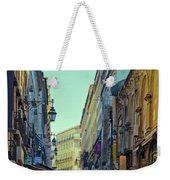 Walkway Over The Street - Lisbon Weekender Tote Bag