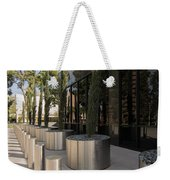Walkway With Reflection Weekender Tote Bag