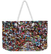 Wall Of Chewing Gum Seattle Weekender Tote Bag