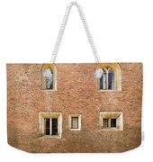 Wall Of Five Windows. Weekender Tote Bag
