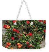 Wall Of Roses Weekender Tote Bag