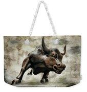 Wall Street Bull Viii Weekender Tote Bag