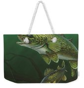 Walleye Weekender Tote Bag