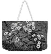 Wallflower Ain't So Bad Bw Weekender Tote Bag
