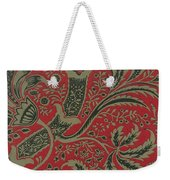 Wallpaper Sample With Bamboo Pattern By William Morris 1 Weekender Tote Bag