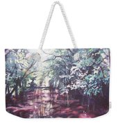 Wall's Bridge Reflections Weekender Tote Bag