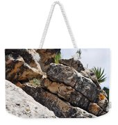 Walnut Canyon Cliffs Weekender Tote Bag