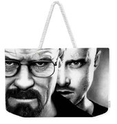 Walt And Jesse Weekender Tote Bag