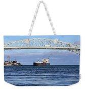 Walter J. Mccarthy And Blue Water Bridge 112917 Weekender Tote Bag