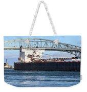Walter J. Mccarthy Jr. And Blue Water Bridge 2 112917 Weekender Tote Bag