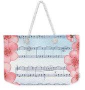 Waltz Of The Flowers Dancing Pink Weekender Tote Bag