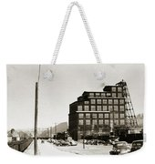 Wanamie Pa Wanamie  Number 18 Coal Breaker 1944 Weekender Tote Bag