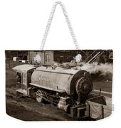 Wanamie Pennsylvania Coal Mine Locomotive Lokey 1969... Weekender Tote Bag