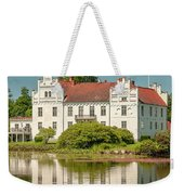 Wanas Castle And Reflection Weekender Tote Bag