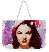 Wanda Hendrix, Vintage Movie Star Weekender Tote Bag