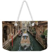 Wandering The Beautiful Venice Canals Weekender Tote Bag