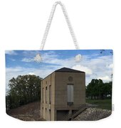 Wappapello Dam Gate House Weekender Tote Bag