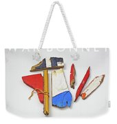 War Bonnet Weekender Tote Bag