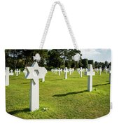 War Crosses In Normandy Weekender Tote Bag