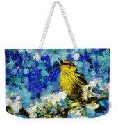 Warbler Of Spring Weekender Tote Bag
