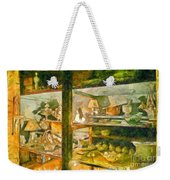 Wardrobe With Ceramic Objects Weekender Tote Bag