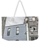 Warehouse Row Weekender Tote Bag