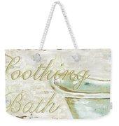 Warm Bath 1 Weekender Tote Bag