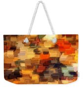 Warm Colors Abstract Weekender Tote Bag