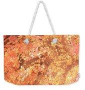 Warm Colors Natural Canvas 2 Weekender Tote Bag