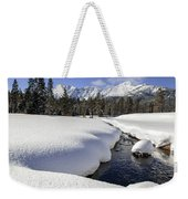 Warm Creek Weekender Tote Bag