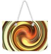 Warm Honey Swirl Weekender Tote Bag