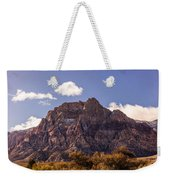 Warm Light In Red Rock Canyon Weekender Tote Bag