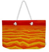 Warm Seascape Weekender Tote Bag