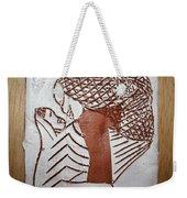 Warmth - Tile Weekender Tote Bag