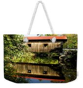 Warner Covered Bridge Weekender Tote Bag