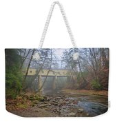 Warner Hollow Rd Covered Bridge Weekender Tote Bag