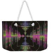 Warping Neon Weekender Tote Bag