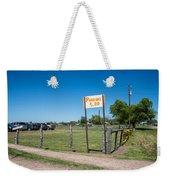 Warrenton Texas Antique Days Park Here Weekender Tote Bag