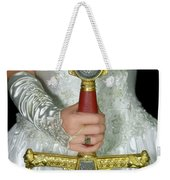 Warrior Bride Of Christ Weekender Tote Bag by Constance Woods