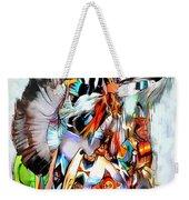 Warrior Dance Weekender Tote Bag