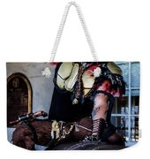 Warrior On A Cannon - New Orleans Weekender Tote Bag