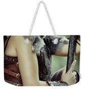 Warrior Princess In Battle Weekender Tote Bag