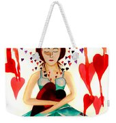 Warrior Woman - Tend To Your Heart Weekender Tote Bag